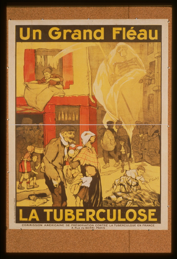 french tuberculosis poster