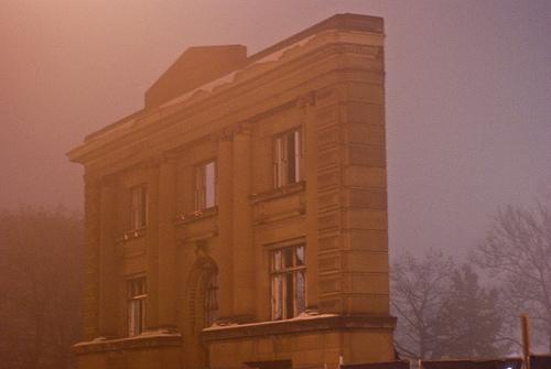 Ann Arbor Carnegie Library Facade